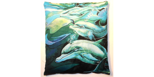 Collection la Mer :  Dauphins en couple