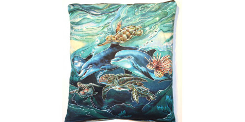 Collection la Mer :  Dauphins et Tortues