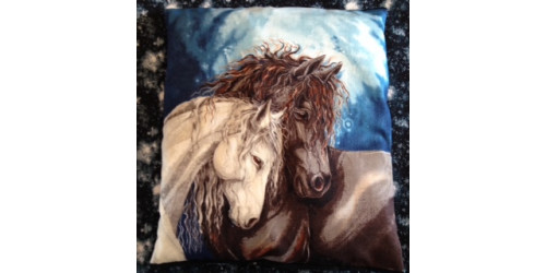 "Collection Chevaux sauvages ""les Amours"""