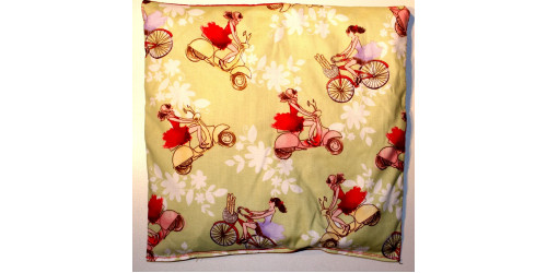 Madame à vélo
